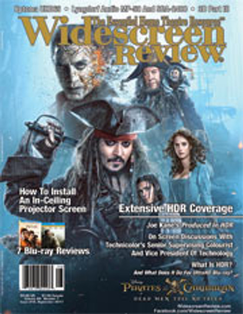 Widescreen Review Issue 219 - Pirates Of The Caribbean Dead Men Tell No Tales (September 2017)