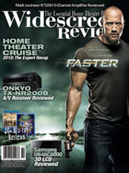 Widescreen Review Issue 154 - Faster (February 2011)