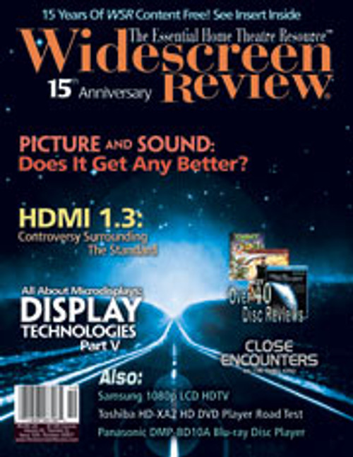 Widescreen Review Issue 124 - Close Encounters Of The Third Kind (October 2007)