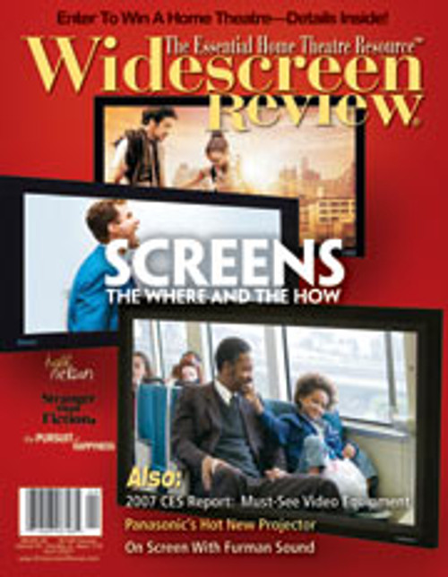 Widescreen Review Issue 119 - Screens (April 2007)