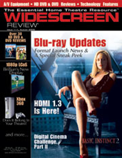 Widescreen Review Issue 111 - Basic Instinct 2 (August 2006)