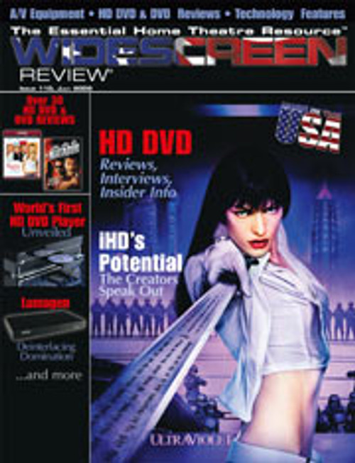 Widescreen Review Issue 110 - Ultraviolet (July 2006)