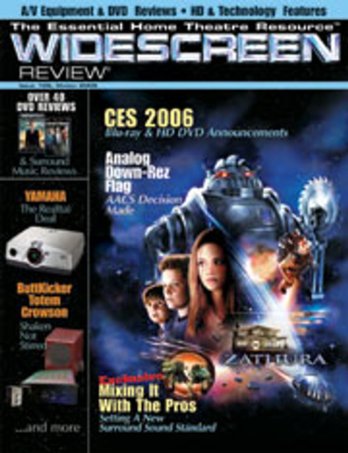 Widescreen Review Issue 106 - Zathura (March 2006)