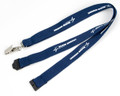 "Navy 3/4"" Lanyard with FREE Breakaway Release"