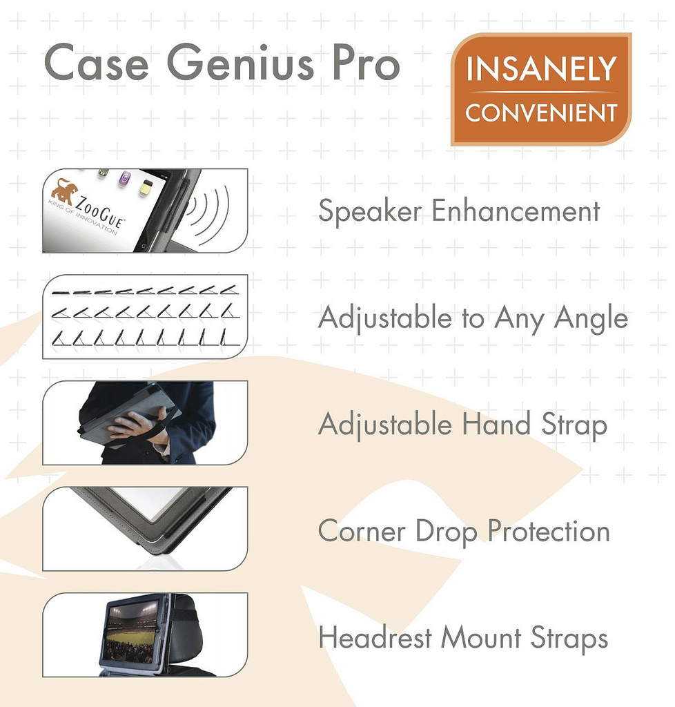 The Case Genius is by far the best leather iPad Case out there