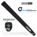 Boccieri Golf Secret Midsize Pistol Counterbalance Putter Grip - Black / Green