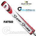 SuperStroke Fatso 5.0 Legacy Series Putter Grip - White / Red