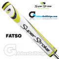 SuperStroke Fatso 5.0 Legacy Series Putter Grip - White / Yellow
