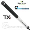 SuperStroke TX1 Tour Extreme Midsize Half Cord Grips - White / Black