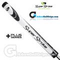 SuperStroke Slim 3.0 XL Plus Legacy Series Counter Core Putter Grip - White / Black