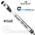 SuperStroke Mid Slim 2.0 XL Plus Legacy Series Counter Core Putter Grip - White / Black