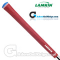 Lamkin UTx Cord Midsize Grips - Solid Red