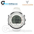 Voice Caddie T1 Hybrid GPS Watch - White