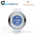 Voice Caddie T2 Hybrid GPS Watch & Tracker White