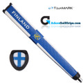 TourMARK Finland Jumbo Pistol Putter Grip - White / Blue