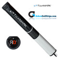 TourMARK RD3 Jumbo Putter Grip - Black / White