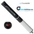 TourMARK RD2 Midsize Putter Grip - Black / White