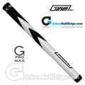 Garsen Golf 15 Inch G-Pro Max Jumbo Putter Grip - Black / White