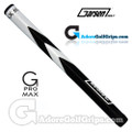 Garsen Golf 15 Inch G-Pro Max Jumbo Putter Grip - White / Black