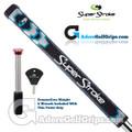 SuperStroke Pistol GT Tour CounterCore Putter Grip - Midnight Black / Blue / Silver