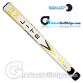 Arm-Lock Golf 14 Inch RX Series Jumbo Lite Putter Grip - White / Yellow / Black