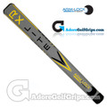 Arm-Lock Golf 14 Inch RX Series Jumbo Lite Putter Grip - Grey / Yellow / Black