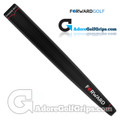 Forward Golf Jumbo V-Shape Light Putter Grip - Black / Red