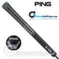 "Ping ID8 Standard (White Code -0/0"") Grips - Black / White"