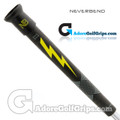 Never Bend Pro 300 Super Jumbo Putter Grip - Black / Yellow / Grey