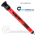 Never Bend Pro 300 Super Jumbo Putter Grip - Red / Black