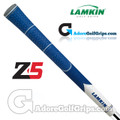 Lamkin Z5 Multicompound Cord Midsize Grips - Blue / White / Grey
