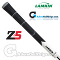 Lamkin Z5 Multicompound Cord Midsize Grips - Black / White / Grey