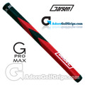 Garsen Golf 15 Inch G-Pro Max Jumbo Putter Grip - Black / Red