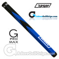 Garsen Golf 15 Inch G-Pro Max Jumbo Putter Grip - Black / Blue