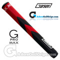 Garsen Golf G-Pro Max Jumbo Putter Grip - Red / Black