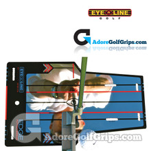 "EyeLine Golf Edge Mirror Putting Aid - Small 12.00"" x 7.50"""