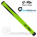 G-Rip MP-1 Midsize Pistol Putter Grip - Lime Green / Black