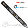2 Thumb Snug Daddy 27 Wide Putter Grip - Black / White / Gold