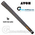 Avon Tacki-Mac Tour Select Jumbo Full Cord Grips - Black / White
