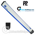 P2 Aware Midsize Putter Grip - White / Blue