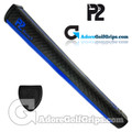 P2 React Jumbo Putter Grip - Black / Blue