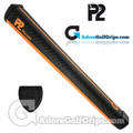 P2 React Jumbo Putter Grip - Black / Orange