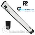 P2 Classic Jumbo Putter Grip - White / Black