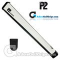 P2 Aware Midsize Putter Grip - White / Black