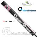 SuperStroke Odyssey Ultra Slim 1.0 Putter Grip - Black / Pink / White