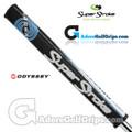 SuperStroke Odyssey Flatso 1.0 Tribecca Putter Grip - Black / Blue / White