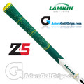 Lamkin Z5 Multicompound Cord Masters Limited Edition Grips - Green / White / Yellow