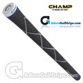 Champ C8 Grips - Jet Black / White
