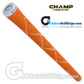 Champ C8 Grips - Neon Orange / White