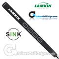 Lamkin Sink Squared 13 Inch Midsize Pistol Putter Grip - Black / White